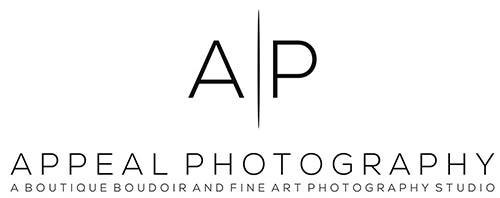 Appeal Photography Logo w/ Tagline_Black on White