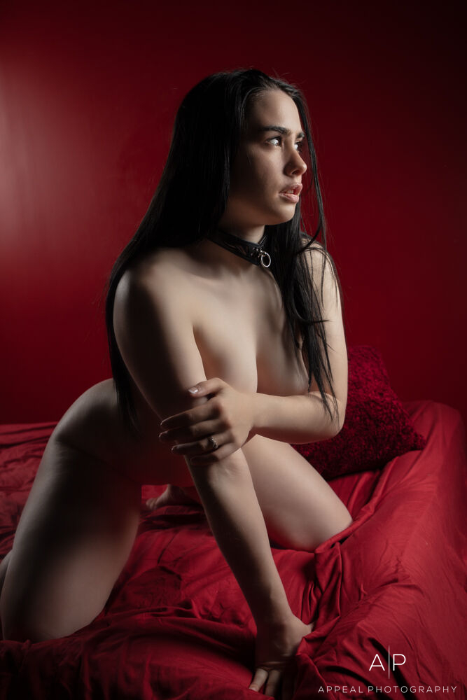 Boudoir Photography - Model: Ahri Love