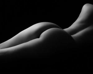 """Fine Art Nude """"Backlight"""""""