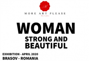 More Art Please - Woman Strong and Beautiful